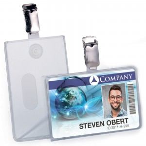 SECURITY PASS HOLDER- PORTRAIT