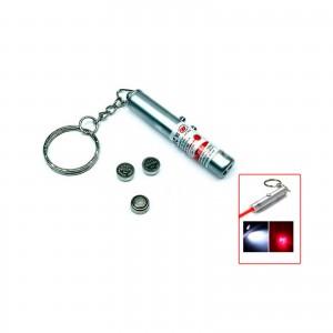 2in1 laser pointer + Led Keychain Light