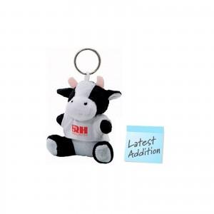 "Soft Plush Key Chain ""Cow"""