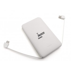 Powerbank 5000mAh color white