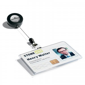 NAME BADGE WITH BADGE REEL
