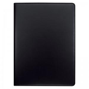 Reißverschluss-Mappe schwarz