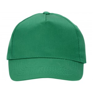 US BASIC 5 panel cap. Green.