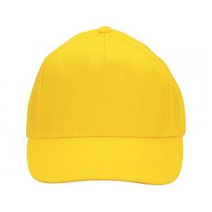 US BASIC 5 panel cap. Yellow.